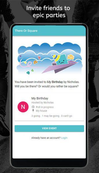 ThereOrSquare Invitation